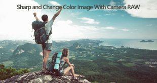 استفاده از فیلتر Camera RAW برای شارپ تصویر