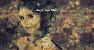 افکت نقاشی اکریلیک بر روی پرتره در فتوشاپ