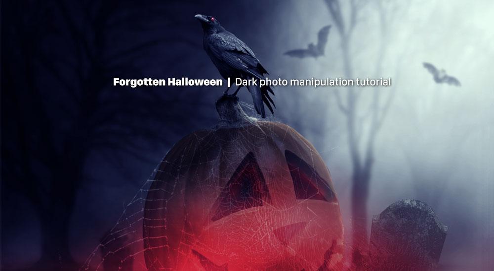 ایجاد یک تصویر دستکاری تاریک هالووین