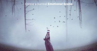 روش ایجاد یک صحنه احساسی سورئال