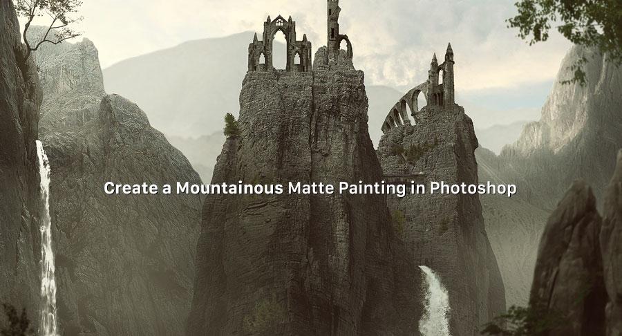 ساخت یک نقاشی مات در فتوشاپ Matte Painting