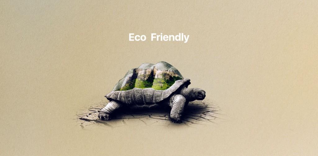 طراحی پوستر مفهومی با موضوع محیط زیست در فتوشاپ