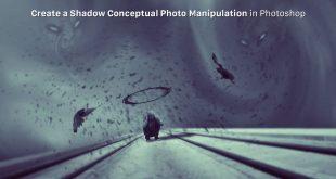 نحوه ایجاد یک دستکاری عکس مفهومی سایه