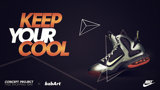طراحی پوستر - آگهی کفش ورزشی 2