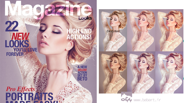 Magazine Looks by beto